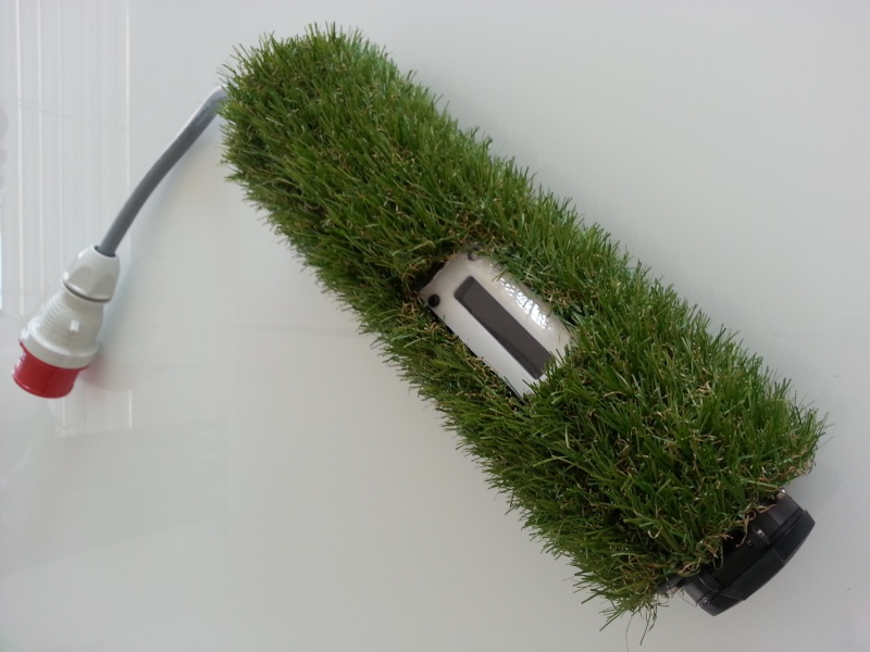 homemade grass charger 1.3 a 22kw 20130815