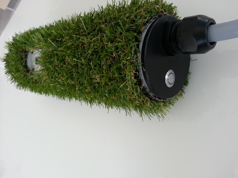 homemade grass charger 1.3 a 22kw 20130819