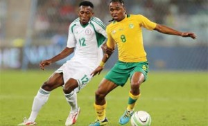 Nigeria beats South Africa 2-0 in Mandela's Challenge Friendly Eagles12