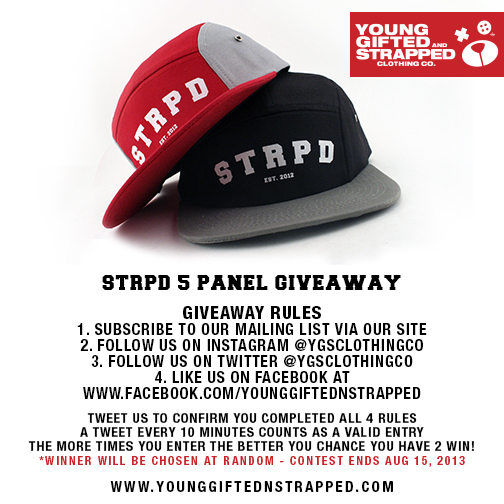 5 Panel Hat Giveaway - WIN A FREE HAT  Strpdg11