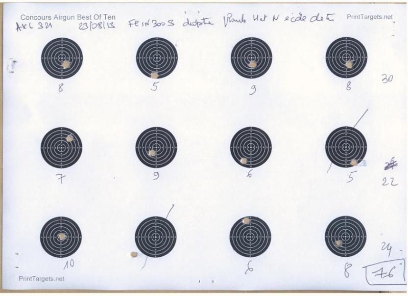 Grand Concours été 2013  Carabine 10m  sur cible C.C. 100 points  - Page 2 Fein-c10