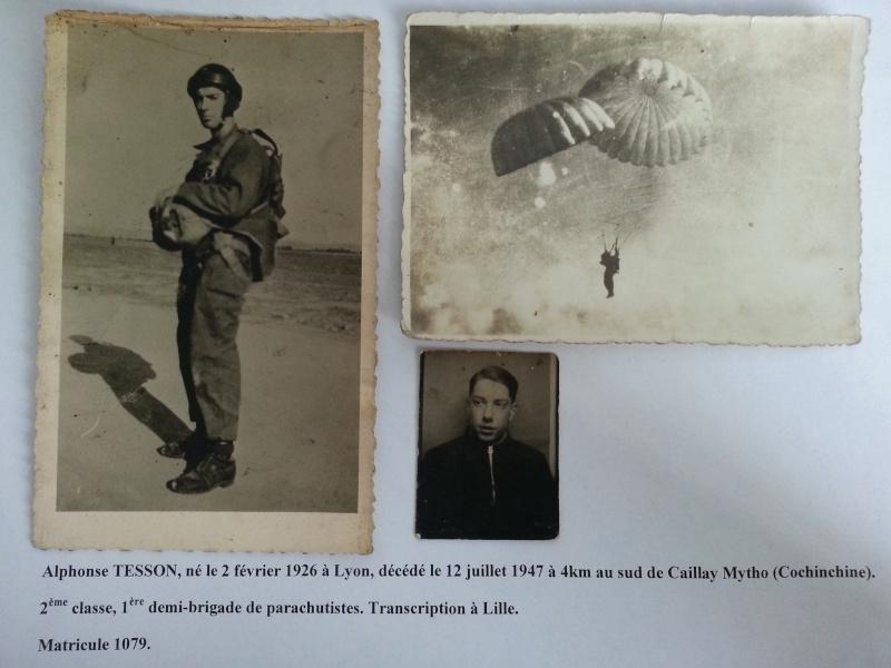 2ème classe ALPHONSE TESSON, Mort Pour La France le 12 juillet 1947 à 4km au sud de Caillay 20130813