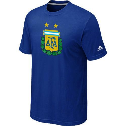 Adidas Argentina 2014 World Short Sleeves Soccer T-Shirts Blue / 25$ Argent11