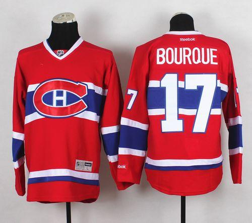 Canadiens #17 Rene Bourque Red Home Stitched NHL Jersey / 80$ Canadi13