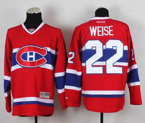 Canadiens #22 Dale Weise Red Home Stitched NHL Jersey / 80$ Canadi14
