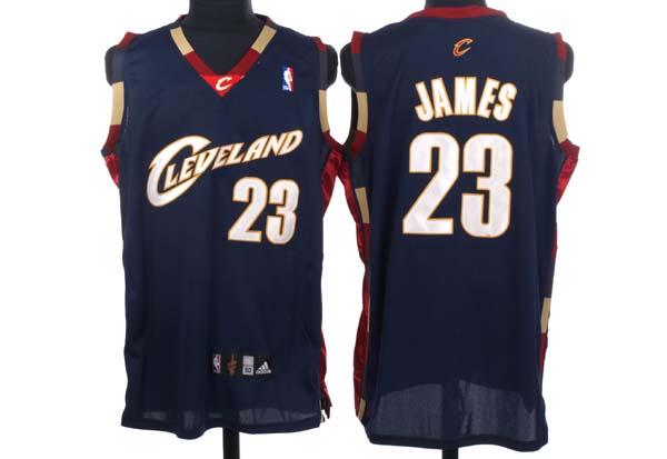 Cavaliers #23 LeBron James Stitched Blue NBA Jersey / 75$ Cavali12