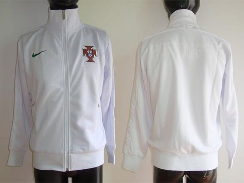 Portugal Soccer Jackets White / 80$ Coat-010