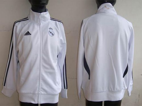 Real Madrid Authentic Soccer Jackets White / 80$ Coat-012