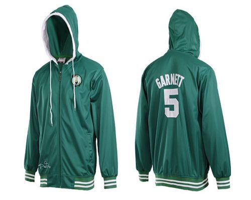 Boston Celtics #5 Kevin Garnett Green NBA Hoodies / 70$ Hoody-10