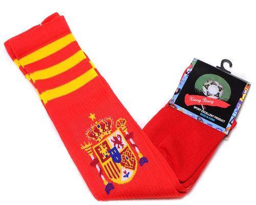 Spain Soccer Football Sock Red / 20$ Sock-010