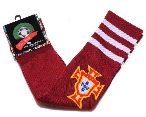Portugal Soccer Football Sock Red / 20$ Sock-011