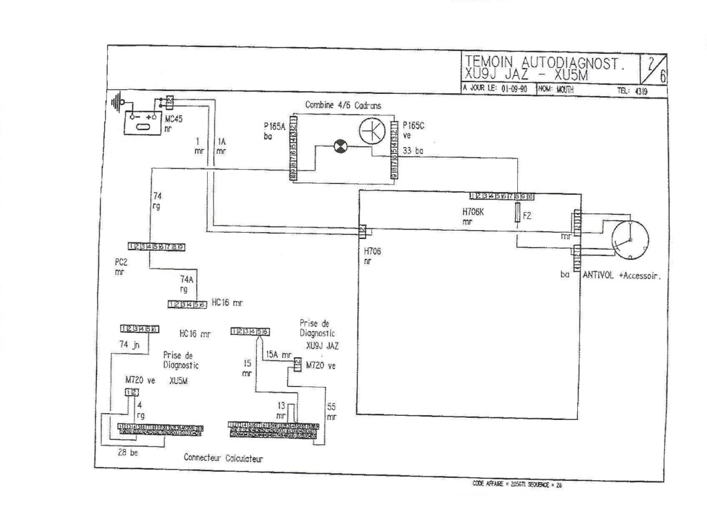 1.9 122 CV - Voyant K  1991_214