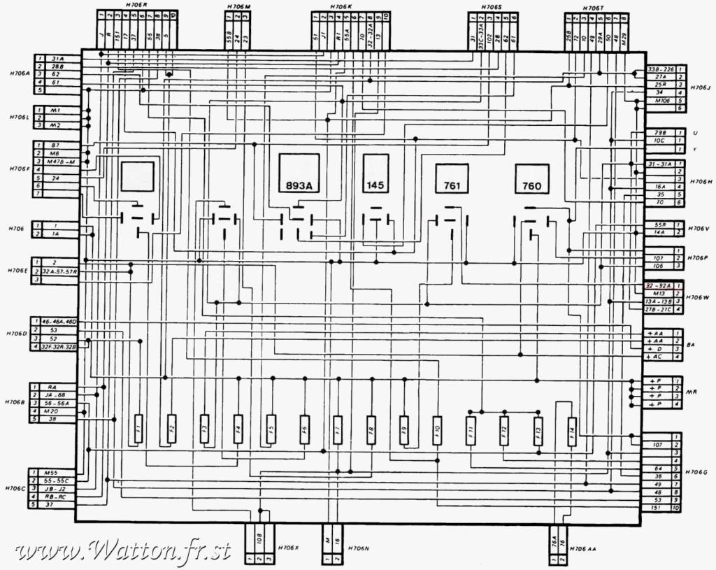 Faisceau électrique tableau de bord  Platin10