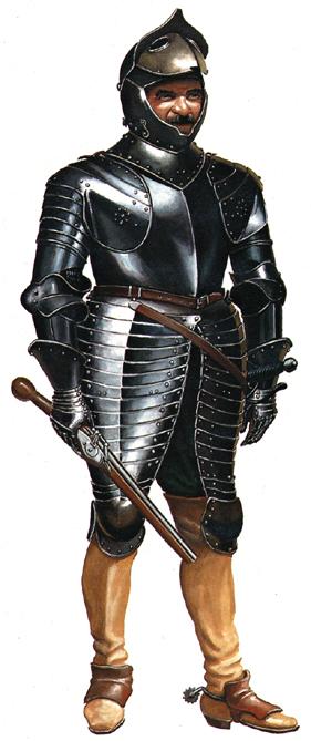 """30YW"""" black""""cuirassiers Imperi10"""