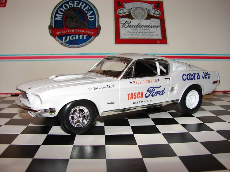 Commentaire sur le Revell 1968 Mustang GT Craigb10