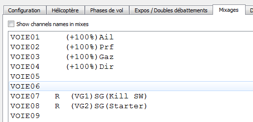 kill switch + starter sur inter 3 positions Mixage11