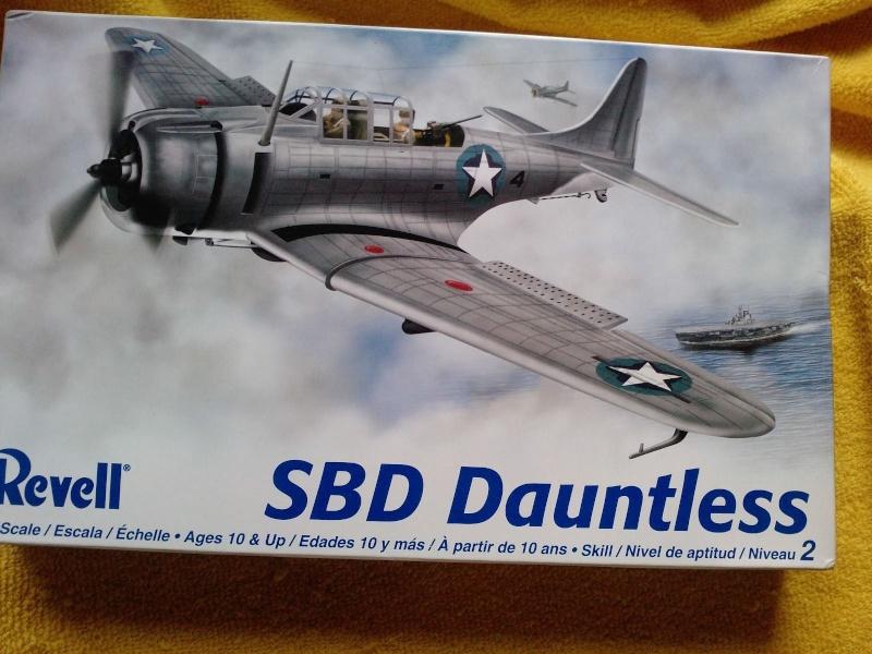 A-24 banshee (kit revell - 1/48 du sdb dauntless ) _6910