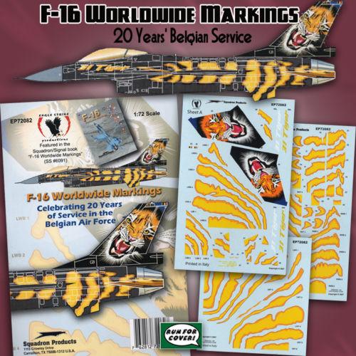 f-16A - force aérienne belge - tiger meet 1998 - ( kit revell 1/72 + decals eagle strike ) Bsugqh10