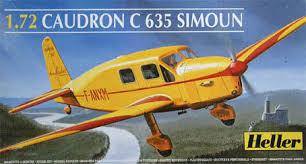 "Caudron C-635 Simoun "" raid Paris-Tokyo "" ( kit heller 1/72 ) Images12"