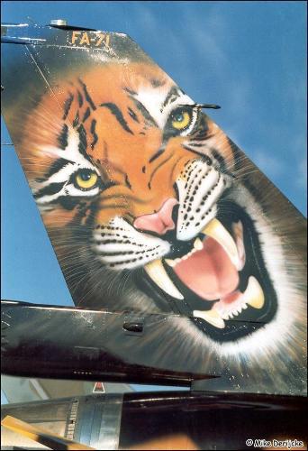 f-16A - force aérienne belge - tiger meet 1998 - ( kit revell 1/72 + decals eagle strike ) Ntm98-10