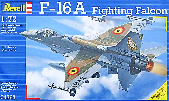 f-16A - force aérienne belge - tiger meet 1998 - ( kit revell 1/72 + decals eagle strike ) Revell11
