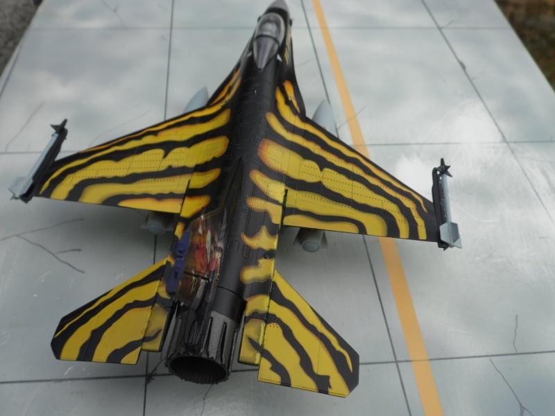 f-16A - force aérienne belge - tiger meet 1998 - ( kit revell 1/72 + decals eagle strike ) Sam_0120