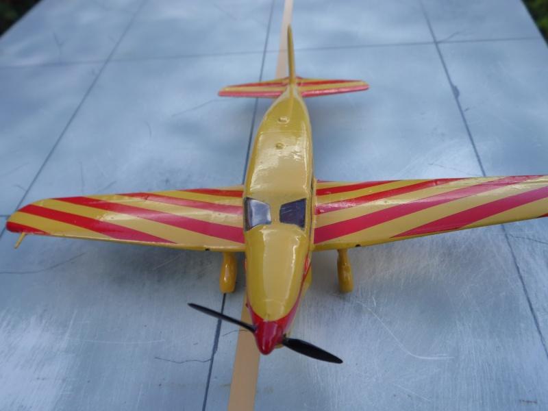 "Caudron C-635 Simoun "" raid Paris-Tokyo "" ( kit heller 1/72 ) Sam_0216"