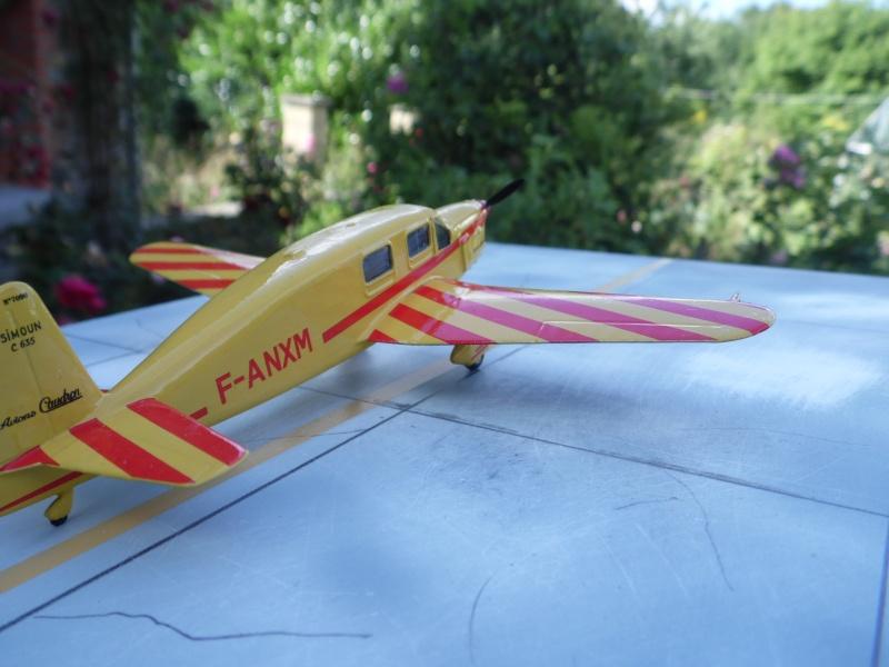 "Caudron C-635 Simoun "" raid Paris-Tokyo "" ( kit heller 1/72 ) Sam_0219"