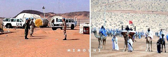 L'Amérique nous humilie, La Minurso un cheval de Troie Americain Sahara10