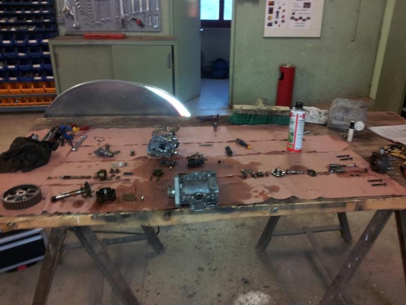 Révision complète Pompe BOSCH type VE Turbo 405 1.9 TD 20130910