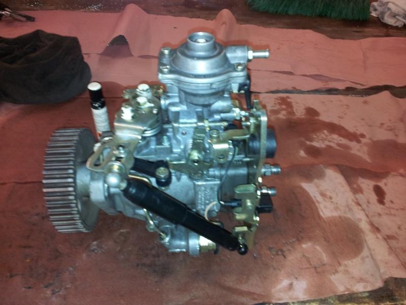 Révision complète Pompe BOSCH type VE Turbo 405 1.9 TD 20130913