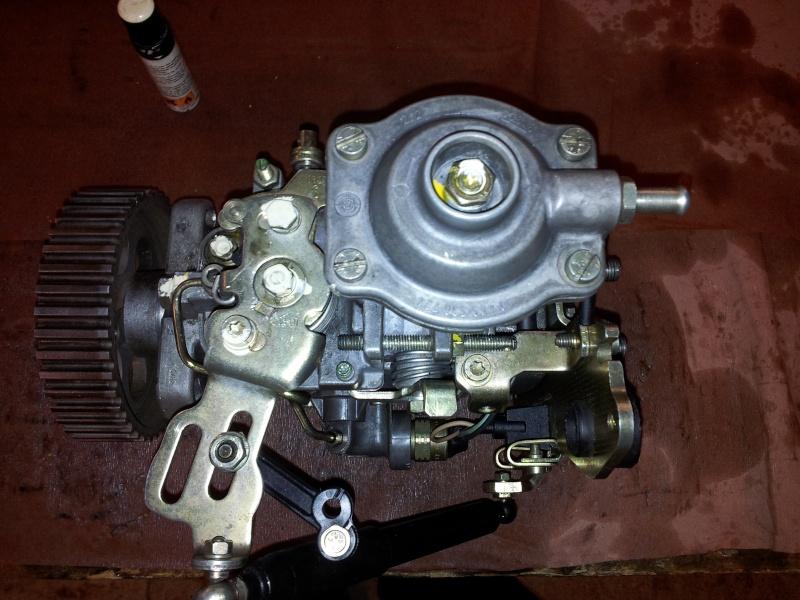 Révision complète Pompe BOSCH type VE Turbo 405 1.9 TD 20130914