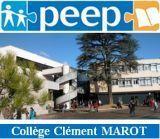 -    PEEP Clément MAROT    -