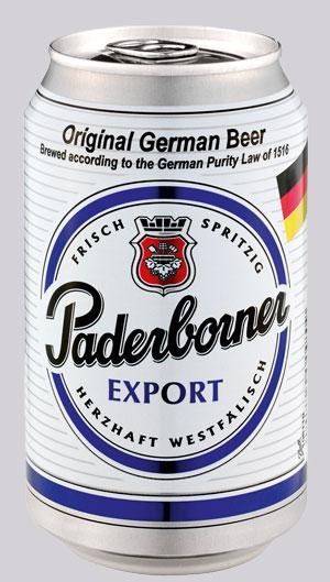 Paderborner Bier in Bogota - Angebot fuer unseren Stammtisch Paderb13