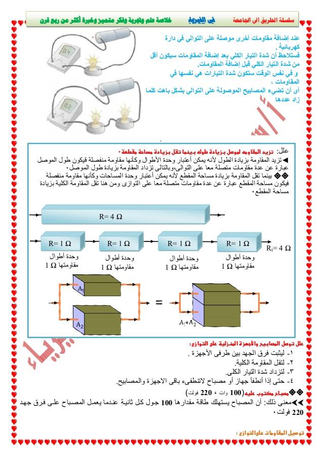 شرح التيار الكهربي وقانون أوم فيديو - فيزياء الثانوية العامة نظام جديد -4-63811