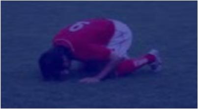 وفاة طالب ساجدا بعد إحرازه هدفا فى مباراة كرة قدم ببنى سويف 01170