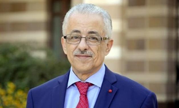 وزير التعليم: الشكر واجب لمعلمي مصر الافاضل 01350