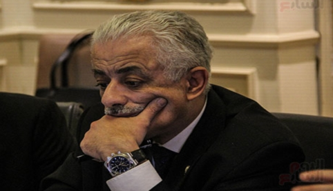 """وزير التعليم"""" ينعي الأخلاق ويطالب بالثأر للوطن بالعلم 0211112"""