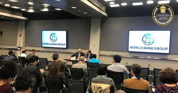 وزير التعليم: البنك الدولي يؤكد ان نظام التعليم الجديد أفضل ما موّله البنك من مشروعات 02156