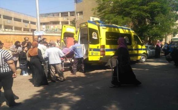 إصابة 8 تلاميذ اصابات خطيرة أثناء رحلة مدرسية بالمنصورة 02178