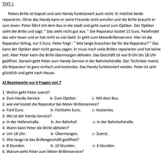 مراجعة أسئلة امتحان اللغة الألمانية بالاجابات النموذجية للثانوية العامة مس منى رافع 022217