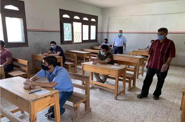 شكل لجان امتحان الشهادتين الإعدادية والثانوية 2021  02236