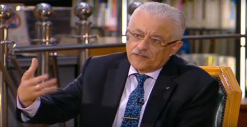 وزير التعليم: حريصون علي أولادنا.. مش عايزين المدارس مصنع للشهادات فقط 02241