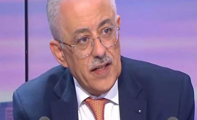 فيديو |  وزير التعليم: مستمر في العمل ولو كره الكارهون 02313