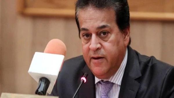 وزير التعليم العالي يكشف حقيقة إلغاء الترم الثاني 03212