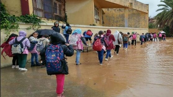 """الأرصاد"""" تحذر من طقس اليوم الأحد.. وتنصح الطلاب بارتداء الملابس الثقيلة 066610"""