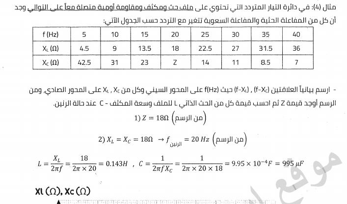 مذكرة الرسم البياني فى الفيزياء للصف الثالث الثانوى 2020 مستر/ محمد عبدالمعبود 0864