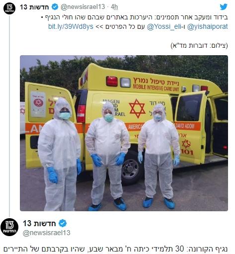للاشتباه فى إصابتهم بكورونا.. احتجاز 30 تلميذا إسرائيليا فى بئر السبع 0958