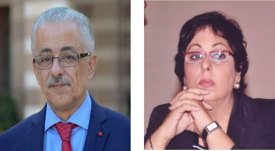 عزة هيكل عميدة كلية اللغة والإعلام تفتح النار على وزير التربية والتعليم 10337