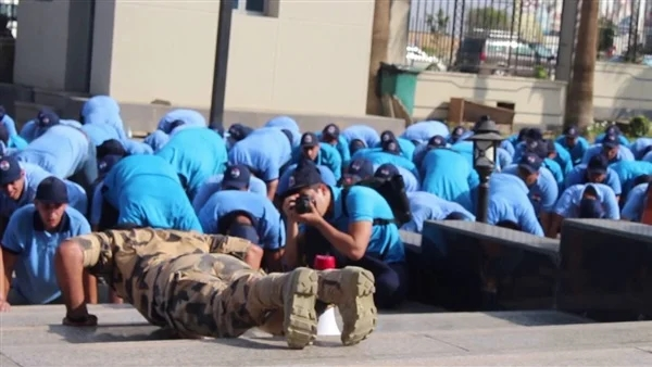 دورة التربية العسكرية  لطلاب جامعة حلوان.. سجل الان 10348